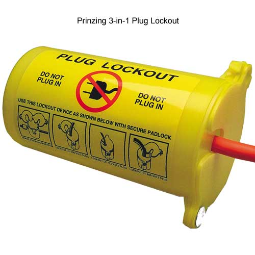 Prinzing 3 in 1 plug lockout - Icon