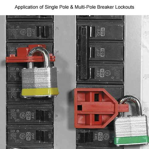 application of single pole and multi pole breaker lockouts - Icon