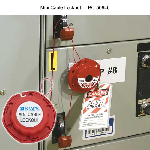 Brady Mini cable lockout - Icon