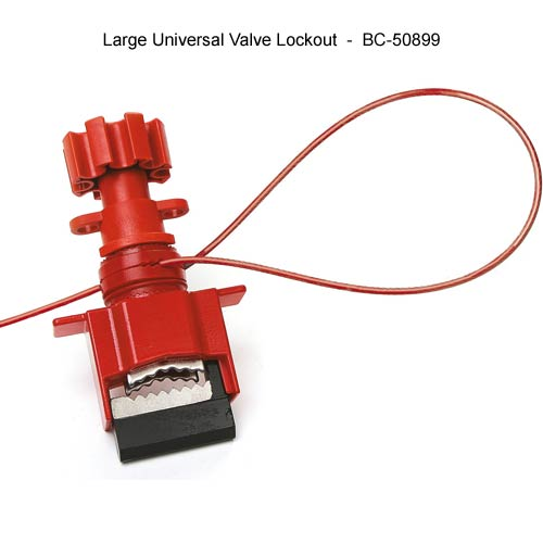 Brady Large universal valve lockout - Icon
