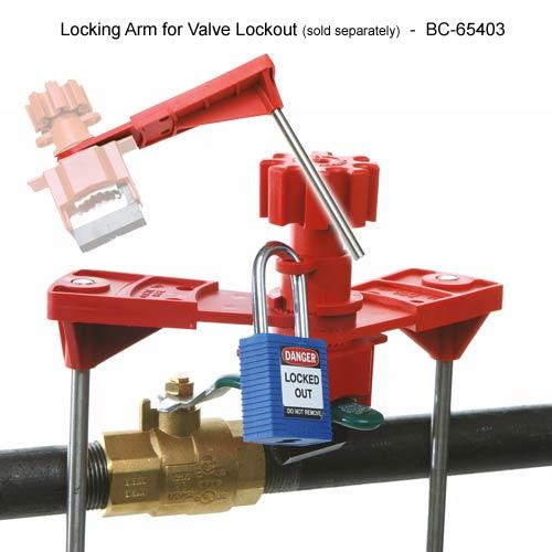 Brady locking arm for valve lockout, sold separately - Icon