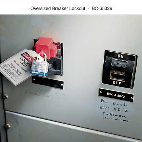 Brady oversized breaker lockout - Icon