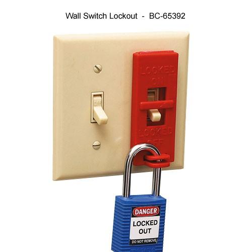 Brady wall switch lockout - Icon
