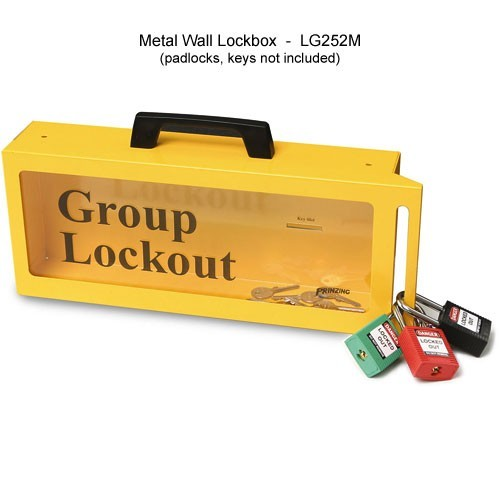 Brady metal wall lockbox - Icon