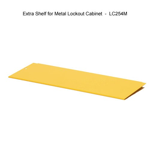 Brady extra shelf for metal lockout cabinet - Icon