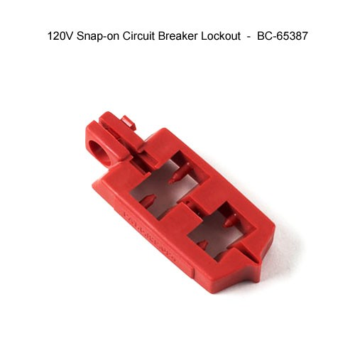 Brady 120v snap-on circuit breaker lockout - Icon