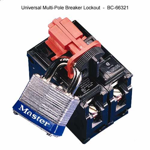 Brady universal multi-pole breaker lockout - Icon