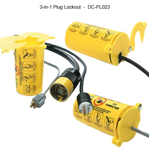 Brady 3 In 1 plug lockout - Icon