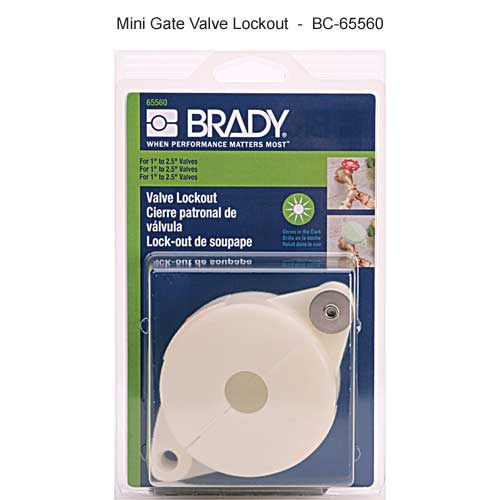 Brady mini gate valve lockout - Icon