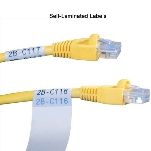 Brady TLS2200 Thermal Labeling system self laminating labels on cables - Icon