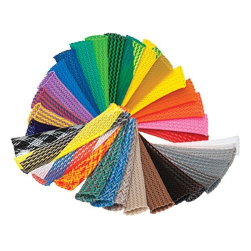 Color options for PET Braided Sleeving