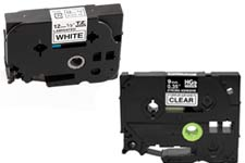 Brother TZ tape, Brother HSe cartridge, Brother HGe tape cartridge