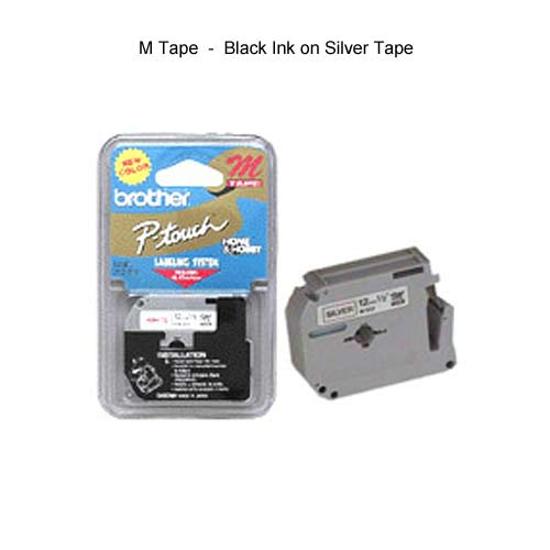 Brother M Tape silver tape - icon