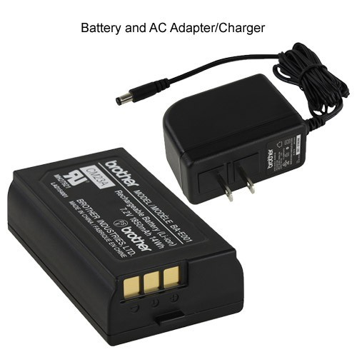 Battery and AC Adapter/Charger