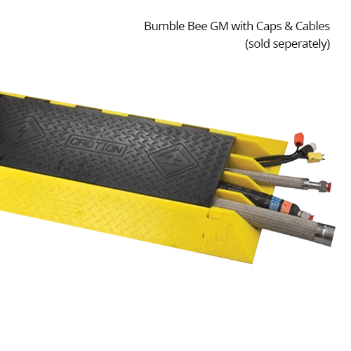Bumble Bee GM cord protector with end boots and cables, hoses
