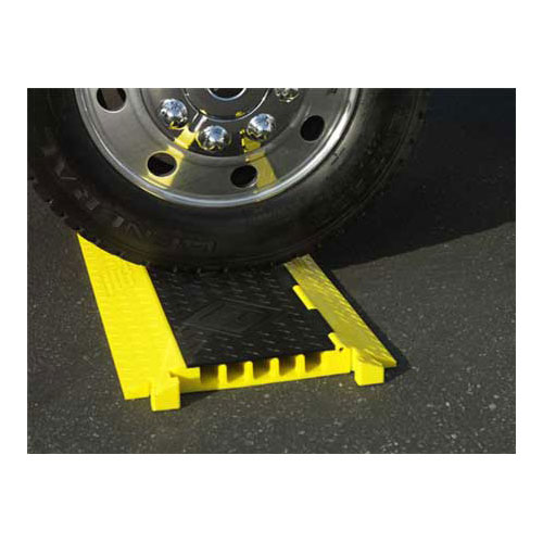 Bumble Bee Five channel cable protector under wheel - icon