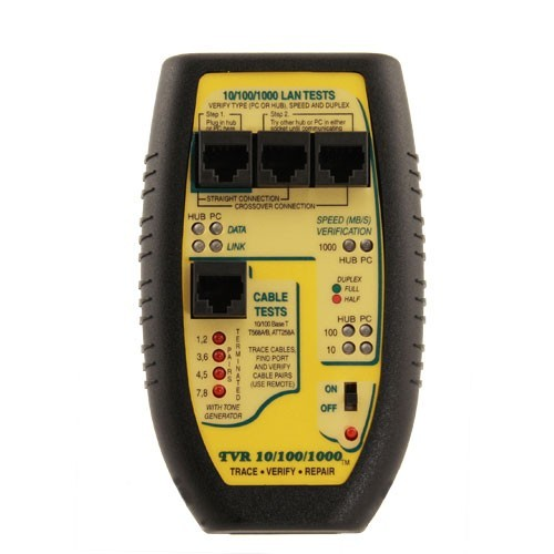 Byte Brothers TVR 101001000 Lan Tester, front view