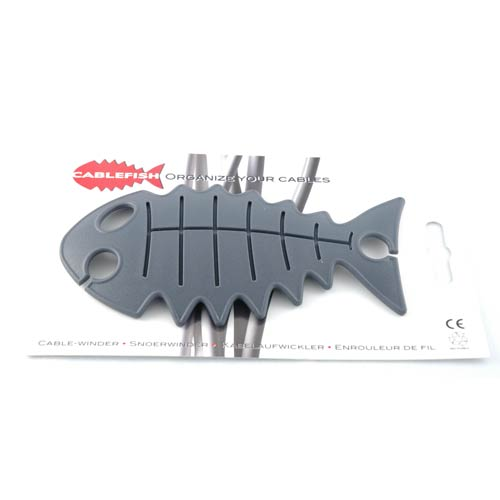 Gray Cable Fish in package - icon