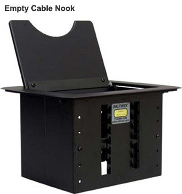 Altinex Cable Nook Modular Tabletop interconnect box, empty - icon