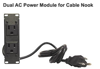 dual AC power module for Altinex Cable Nook Modular Tabletop interconnect box - icon