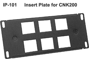insert plate for Altinex Cable Nook Modular Tabletop interconnect box - icon