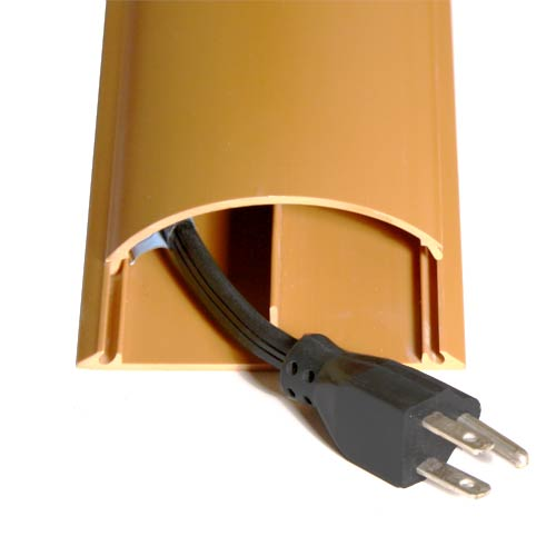 Cable Shield Cord cover in use