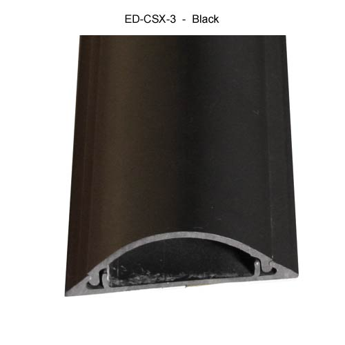 Cable Shield Cord cover, CSX-3 in black
