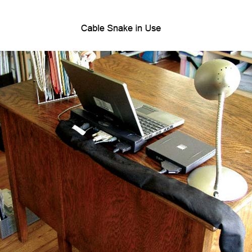 Cable Snake in use on desk - icon