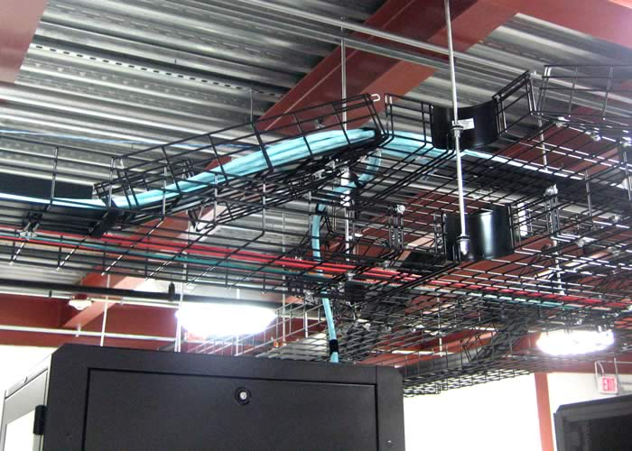 CM20 cable tray system application in black - icon