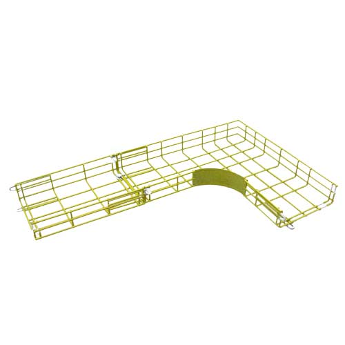 CM20 cable tray L Junction and straight section in yellow - icon