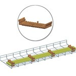 WireRun Powder Coated Cable Trays WR-CBSCTOP