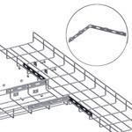 WireRun Mesh Cable Tray WR-CNRSBAR-EZ