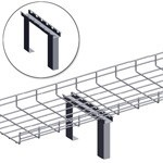 WireRun Mesh Cable Tray WR-CTF4-EZ