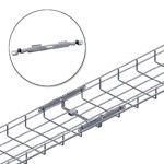 WireRun Mesh Cable Tray WR-FASTSPL-EZ