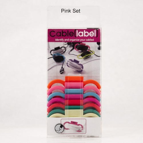 Cable(label) Pink Set
