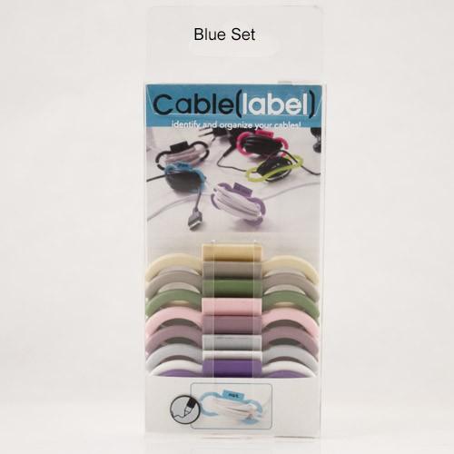 Cable(label) Blue Set