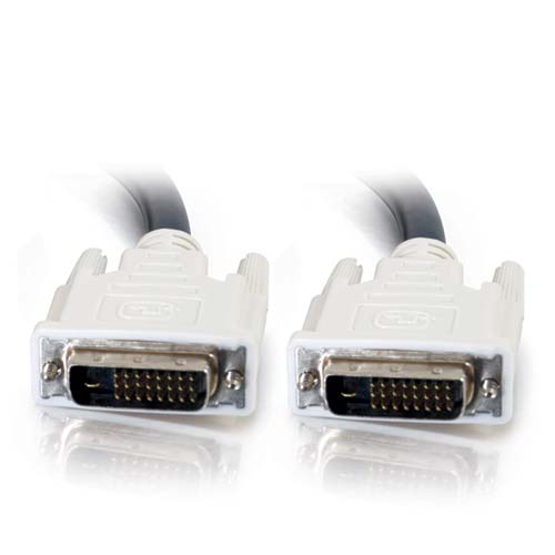close up of cables to go dvi-d male to male dual link digital video cable - icon