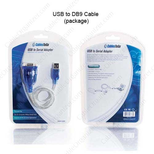 cables to go usb to db9 serial adapter cable in package - icon