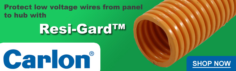 Carlon Resi-Gard flexible low-voltage wiring tubing