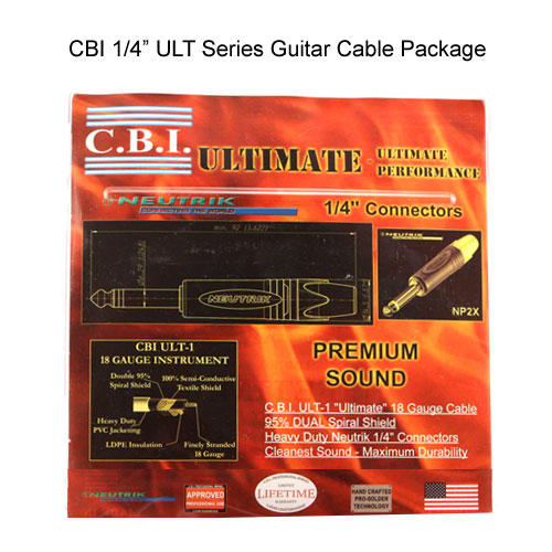 CBI 0.25 inch ULT series instrument cable package - icon