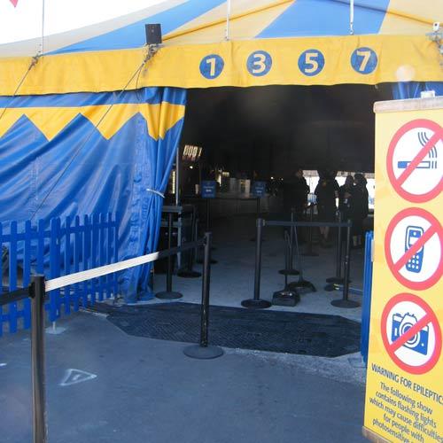 ada compliant cord protectors at a tent