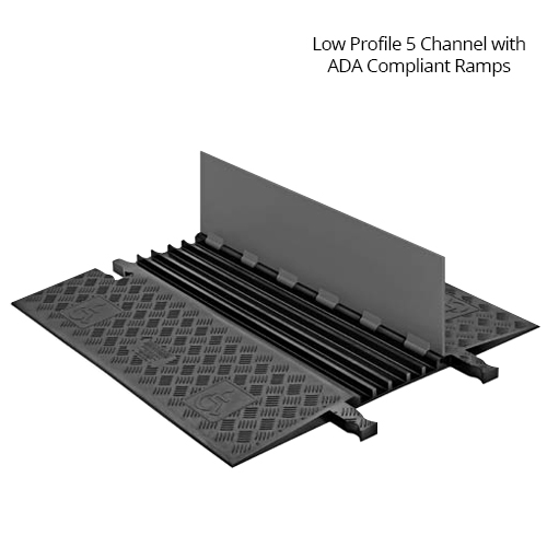 ada compliant 5 channel cable protector