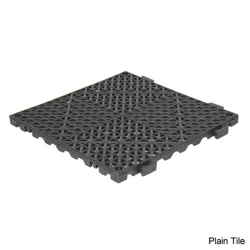 Plain floor tile
