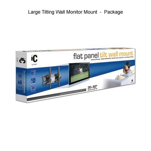 chief ic tilting screen wall mount, large, in package icon