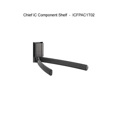 chief ic fixed monitor mount component shelf icon
