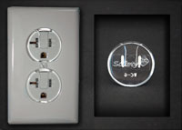 safety first Ultra Clear Outlet Covers