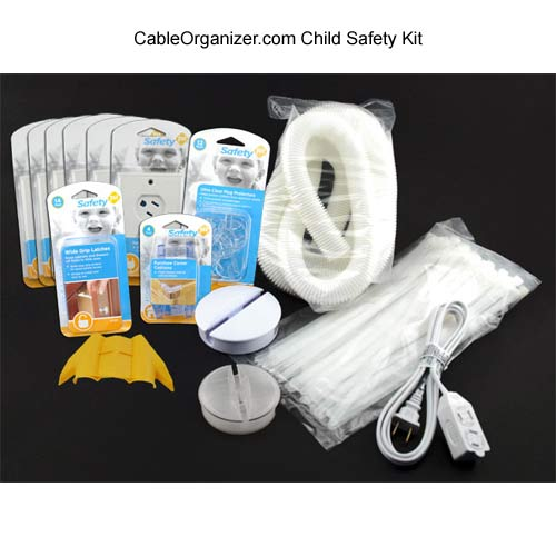 cableorganizer.com child safety kit components icon