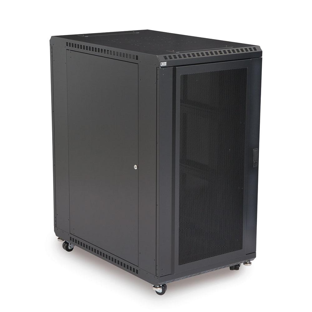22U LINIER  Server Cabinet - Convex/Convex Doors - 36