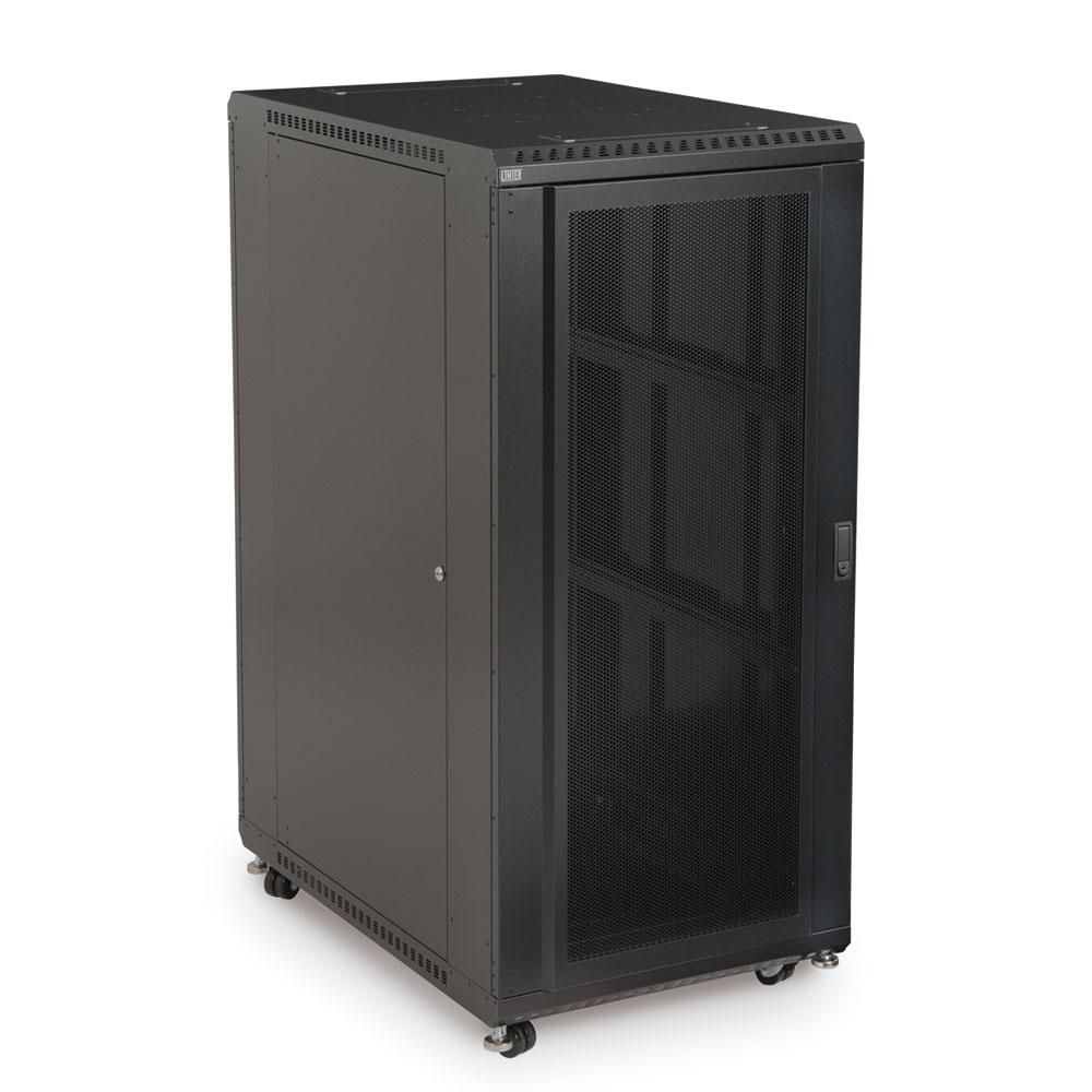 27U LINIER  Server Cabinet - Convex/Convex Doors - 36