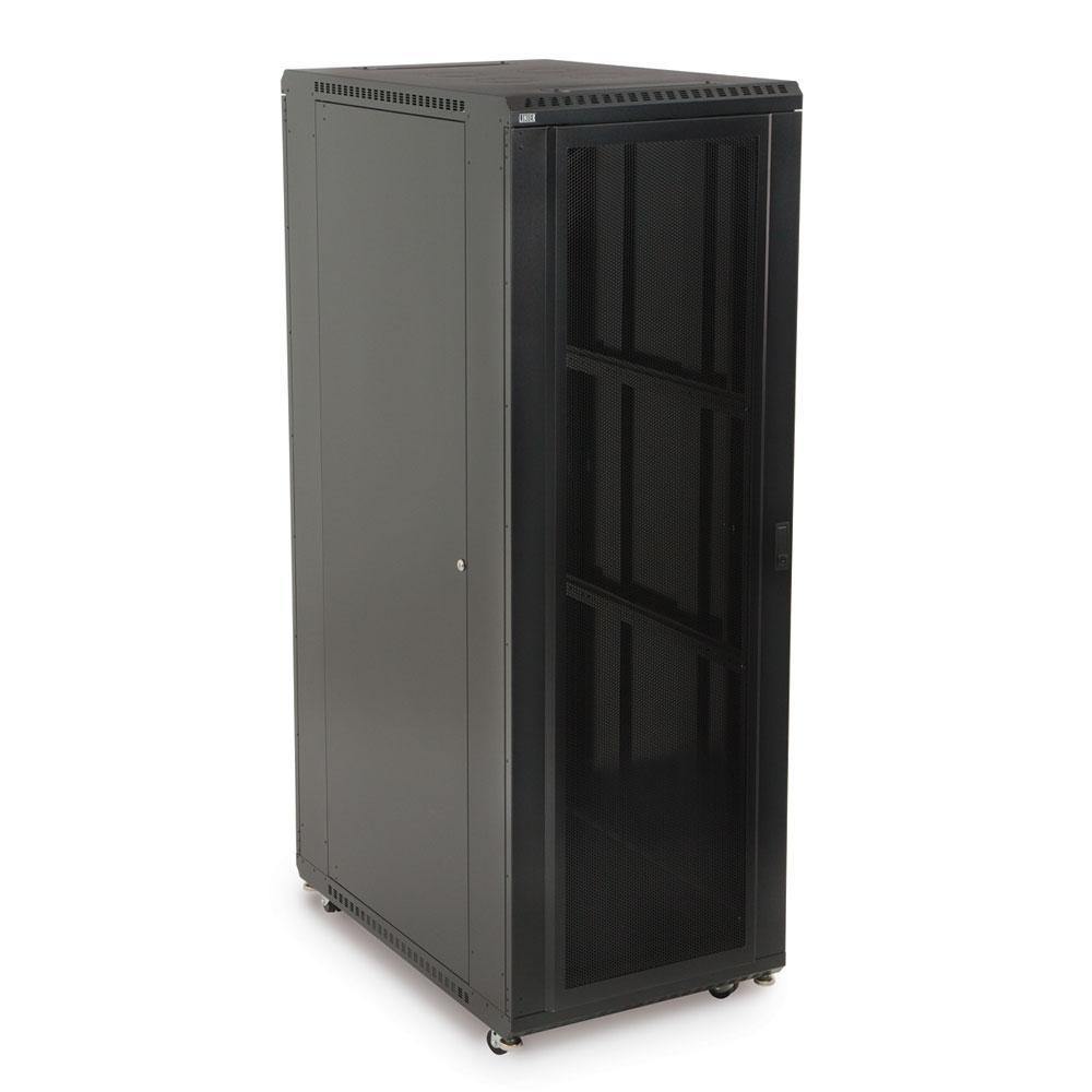 37U LINIER  Server Cabinet - Convex/Convex Doors - 36